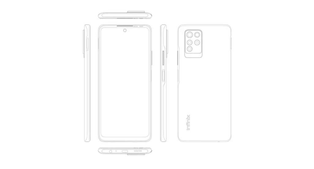 Renders expose the entire design of Infinix Note 10 Pro ahead of launch